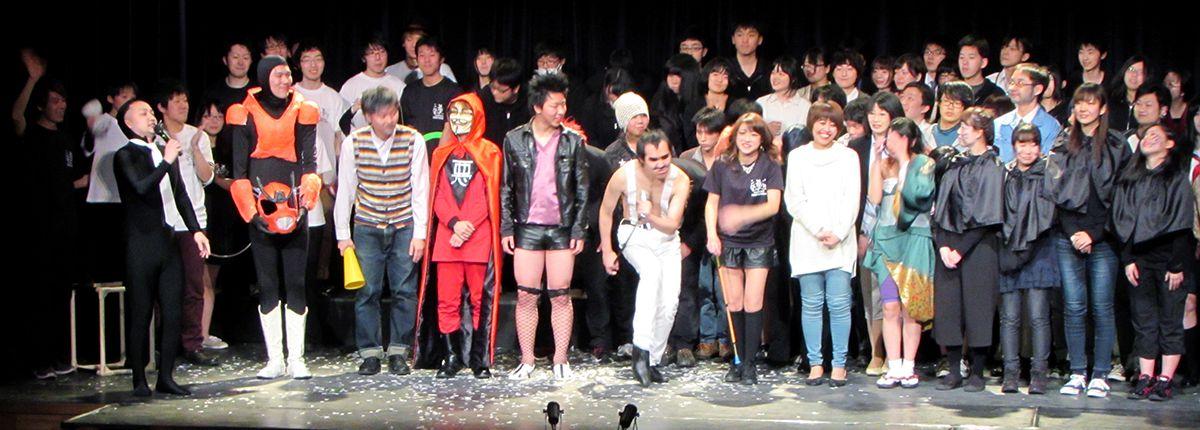 毎年3月には恒例の若者舞台芸術祭sapporoMixArtも実施